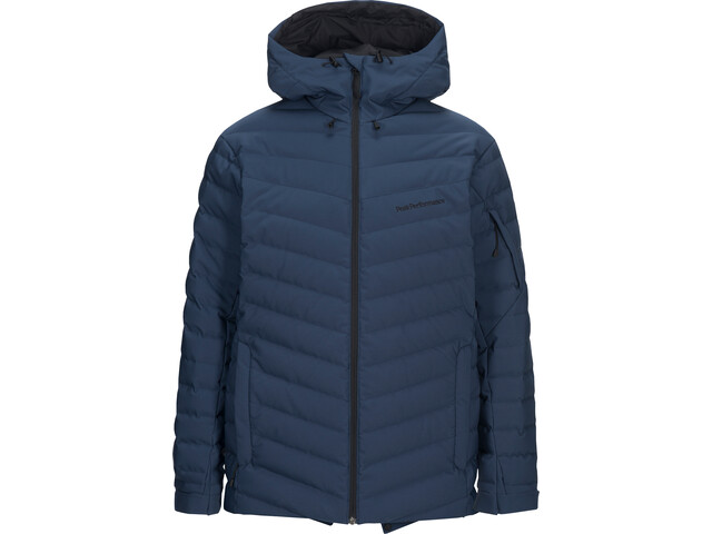 Peak Performance Frost Ski Jas Heren, decent blue